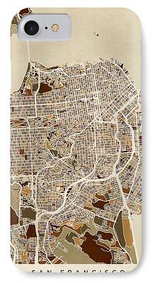City Maps iPhone Cases
