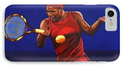 French Open Paintings iPhone Cases