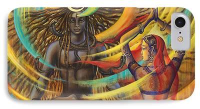 Parvati Paintings iPhone Cases