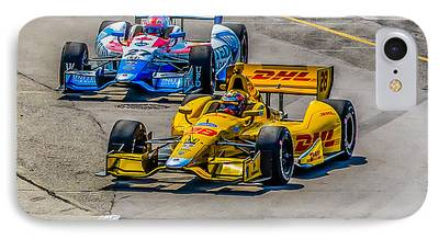 James Hinchcliffe iPhone Cases