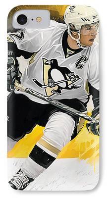 Hockey Art iPhone Cases