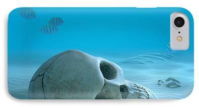 Small Digital Art iPhone Cases