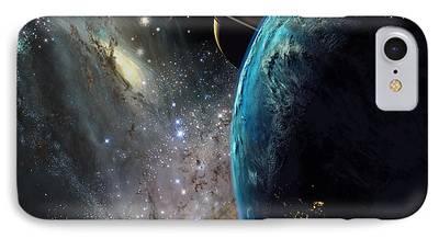 Nebula Paintings iPhone Cases