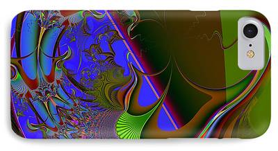 Apnea Digital Art iPhone Cases