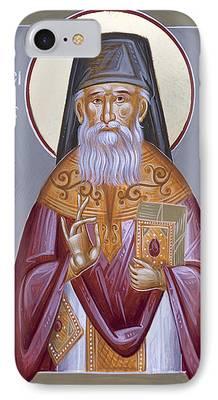St Porphyrios iPhone Cases