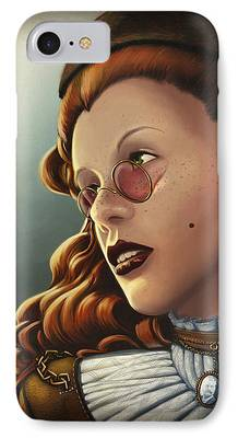 Character Portraits iPhone Cases