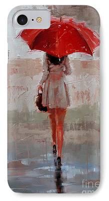 Rainy Days iPhone Cases