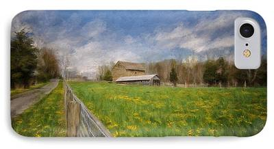 Old Country Roads Photographs iPhone Cases