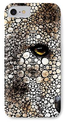 Collectible Mixed Media iPhone Cases