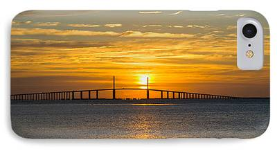 Sunshine Skyway Bridge iPhone Cases