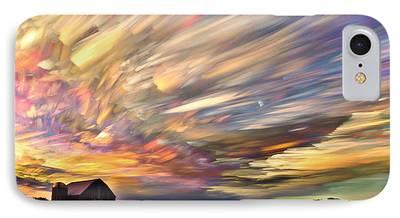 Trippy Digital Art iPhone Cases