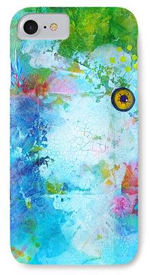 Artistic Fish Abstraction iPhone Cases