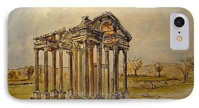 Greek Ruins iPhone Cases