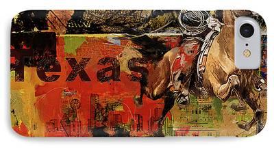 Texas City Ranger iPhone Cases