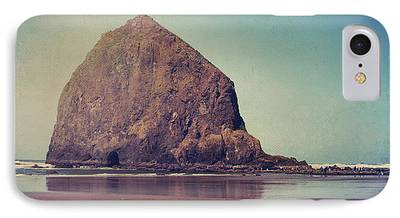Beach Landscape Digital Art iPhone Cases