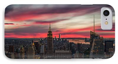 New York City Skyline IPhone 7 Cases