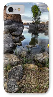 Watson Lake Photographs iPhone Cases