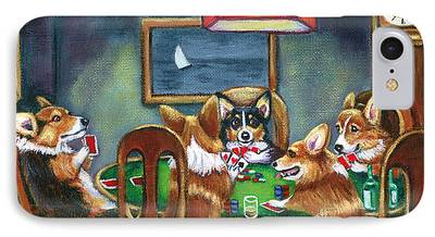 Pembroke Welsh Corgi iPhone Cases