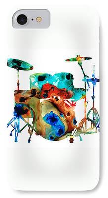 Drummer iPhone Cases