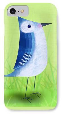 Bluebird iPhone Cases