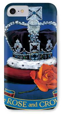 Royal Family Arts iPhone Cases
