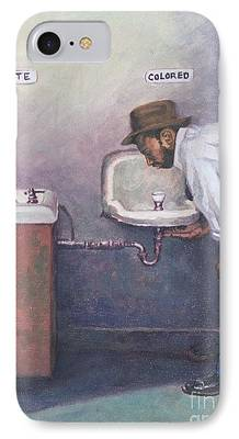 Discrimination Paintings iPhone Cases