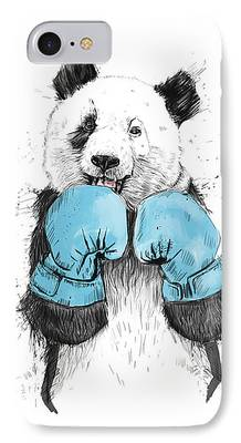 Boxer Drawings iPhone Cases
