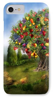 Fruit Tree Art iPhone Cases