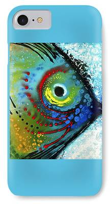 Miami Paintings iPhone Cases