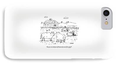 Farm Raised Pigs iPhone Cases