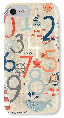 Number iPhone Cases
