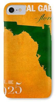 University Of Miami iPhone Cases