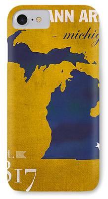 University Of Michigan IPhone 7 Cases