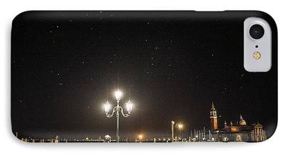 Night Lamp Photographs iPhone Cases