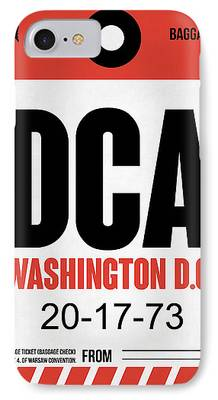 D.c Mixed Media iPhone Cases