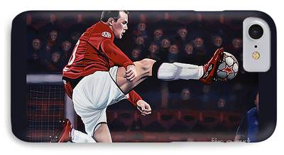 Wayne Rooney iPhone 7 Cases