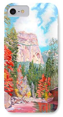 West Fork Oak Creek Canyon iPhone Cases