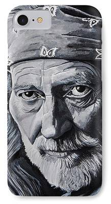 Willie Nelson iPhone Cases