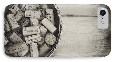 Vintage Wine Lovers Photographs iPhone Cases