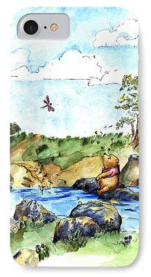 Art For Childrens Room iPhone Cases