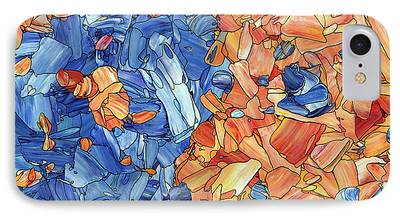Mosaic Drawings iPhone Cases
