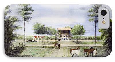 Hermitage Plantation iPhone Cases