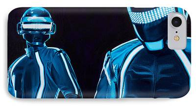 Daft Punk Paintings iPhone Cases