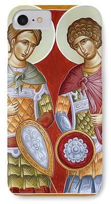 St Dimitrios iPhone Cases