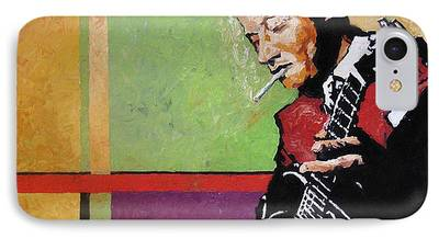Jazz Paintings iPhone Cases