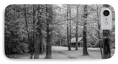 Log Cabin Photographs iPhone Cases