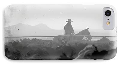Roping Horse iPhone Cases