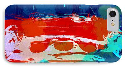Ferrari Watercolor iPhone Cases
