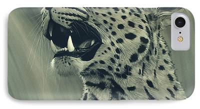 Leopard iPhone 7 Cases