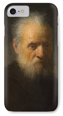 Old Man With Beard iPhone Cases